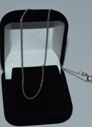Изящная мини цепочка плетение серебро 925 проба вес 2,0 грамма