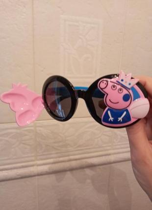 Polarized крутые круглые очки для девочки свинка пеппа