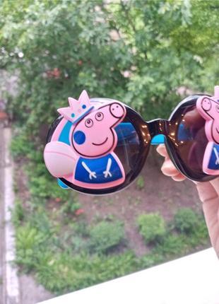 Polarized крутые стильные круглые очки антиблик гибкая оправа для девочки