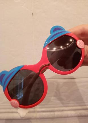 Polarized очки детские унисекс антиблик сова гибкая оправа