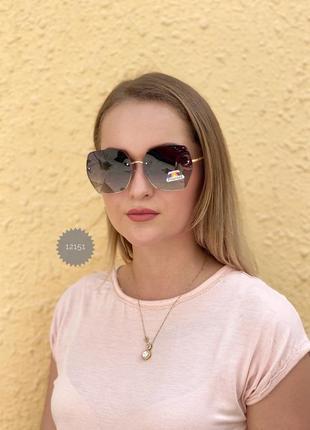 Трендовые солнцезащитные очки с поляризованной линзой к.12151