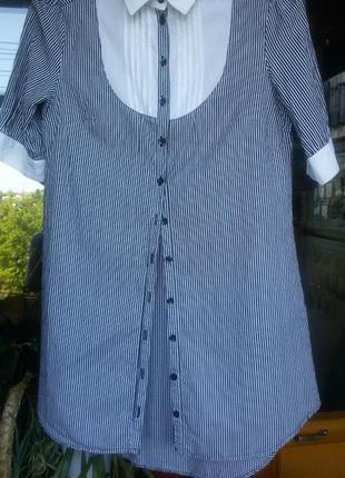 Рубашка - туника хлопок