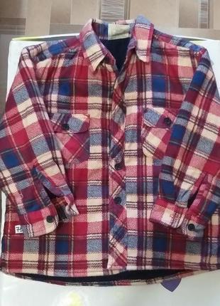 Рубашка батник 18-23месяца