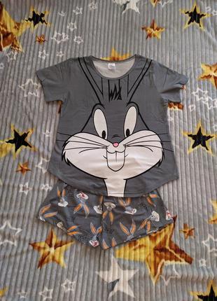 Пижама, піжама шорти і футболка