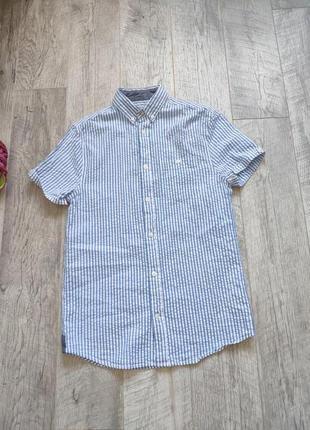 Рубашка тениска полосатая