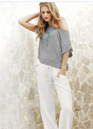 Стильные легкие штаны брюки xs/s/m zebra италия 🇮🇹