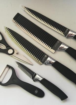 Набор  профессиональных кухонных ножей knife 6 in 1