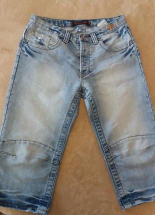 Супер качественные джинсовые бриджи
