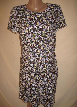 Вискозное платье h&m р-рeur38