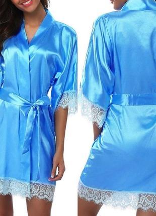 Сексуальный халат-кимоно