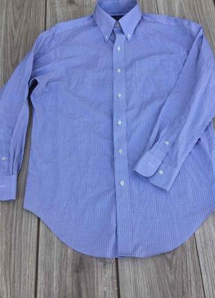 Рубашка ralph lauren трендовая стильная клетчатая актуальная клетка