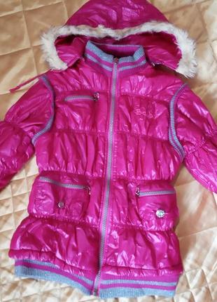 Демисезонная куртка на 7-9 лет
