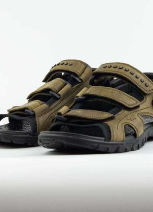 Сандалии спортивные 40-45 размер, кожа натуральная, новинка, босоножки
