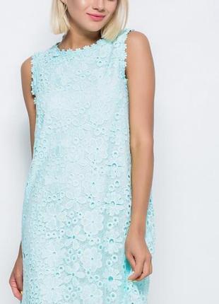 Неймовірна мережива сукня, кружевное платье (не zara)