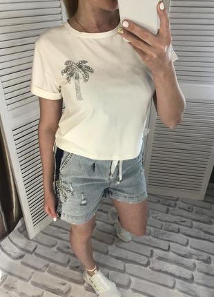 Шикарный летний костюм с шортами, raw, размер с, распродажа последних размерчиков 💥💖
