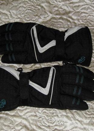 Перчатки лыжные черные женские  makesdry  - 8 размер - германия