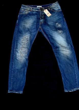 Джинсы мужские miron ray синие крутые! xxl оригинал германия тут только баталы!