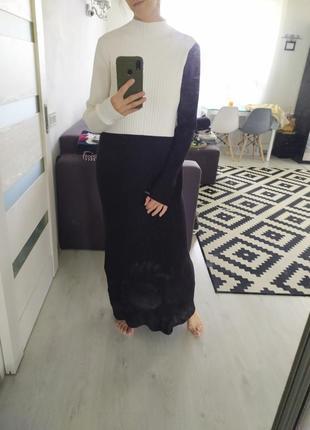 Супер стильное макси платье zara