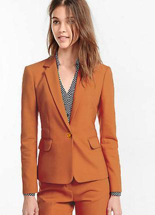Красивый стильный светло коричневый пиджак (m, l)