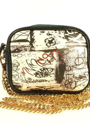 Джинсовый клатч, сумочка batty 6170 на цепочке, расцветки
