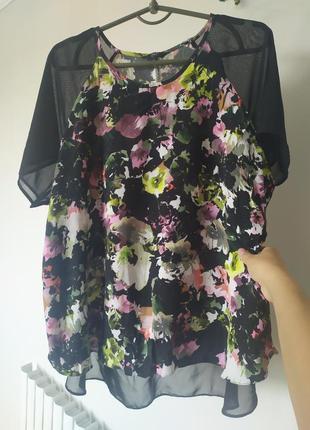 Блуза с коротким рукавом футболка f&f