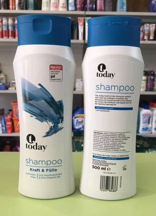 "Шампунь для нормальных волос "" today kraft & fulle"" 500 мл"