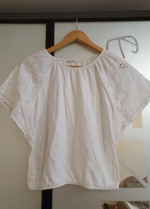 Красивая футболка блузка mango 9-10 лет