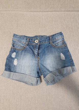 Шорты джинсовые next р.140-146