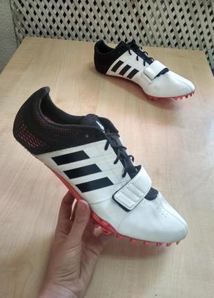 Обувь для легкой атлетики шиповки adidas adizero accelerator b37481