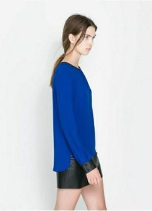 Трендовая блуза зара zara