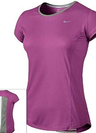 Футболка для спорта\фитнеса\зала xs\s футболка женская nike running оригинал