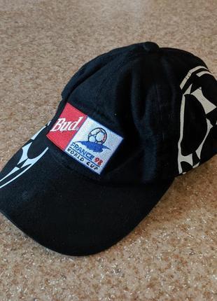 Винтажная кепка budweiser france 1998 world cup