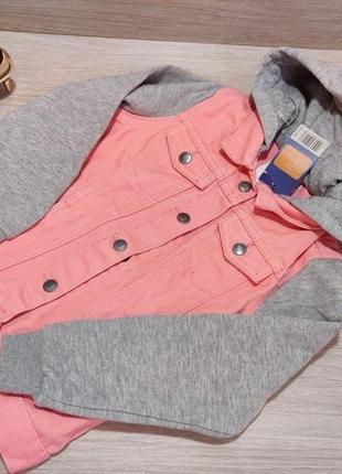 Суперовая джинсовая курточка для девочки