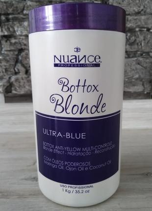 Nuance bottox blonde ботокс  для волос