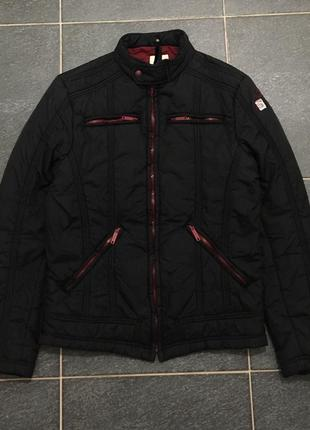 Шикарная утеплённая куртка diesel бомбер