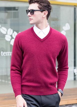 Шикарный лёгкий шёлковый джемпер свитер