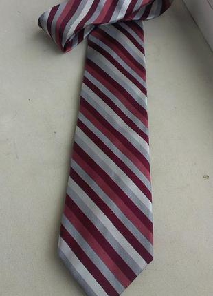 Шелковый галстук dkny