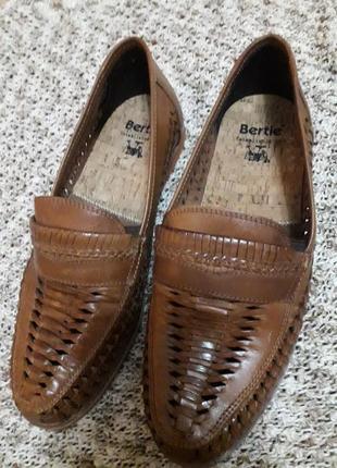 Летние туфли натуральная кожа англия