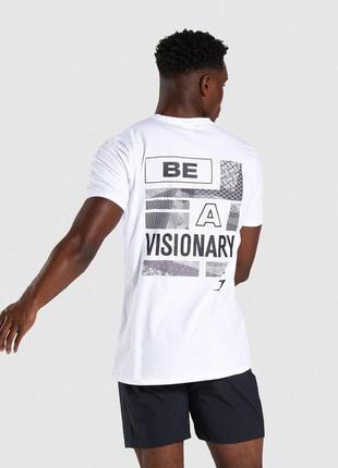 Мужская футболка gymshark quote оригинал