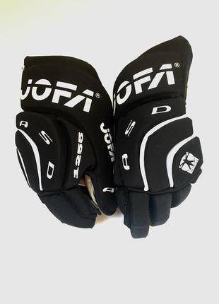 Перчатки хоккейные подростковые, jofa asd 1255