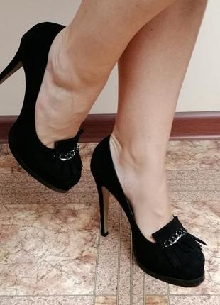 Туфли замшевые mia may, miraton3 фото