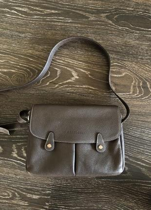 Шикарная кожаная сумочка kesslord сумка кроссбоди