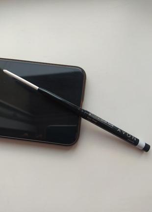Олівець білий для повік від avon (карандаш для век) відтінок відтінок pearlу