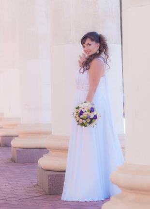 Свадебное платье в греческом стиле размер l, xl (46-52)