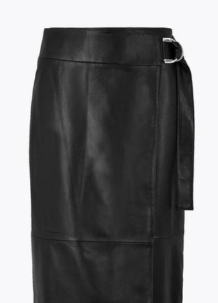 Трендовая юбка эко кожа,бренд so fabulous ,размер uk 16