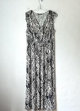 Летнее вискозное платье