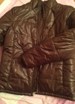 Куртка на сендипоне фирменная faded glory