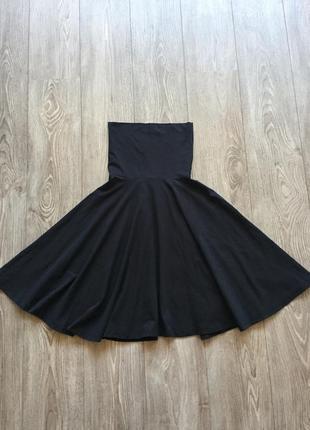 Платье-бюстье трикотажное