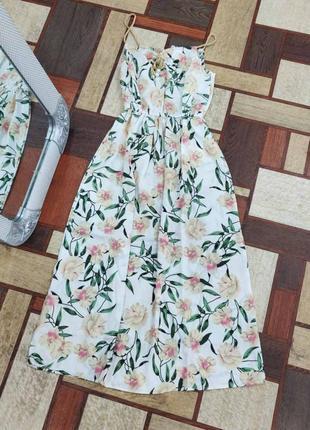 Платье длинное сарафан длинный