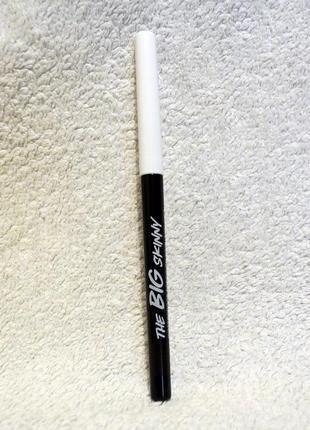 Выкручивающийся водостойкий карандаш для глаз avon mark коричневый